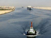 Potret terusan Suez. Sumber foto: Britanica.com